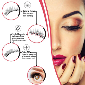 GLAMM Magnetic Eyeliner and Lashes Kit