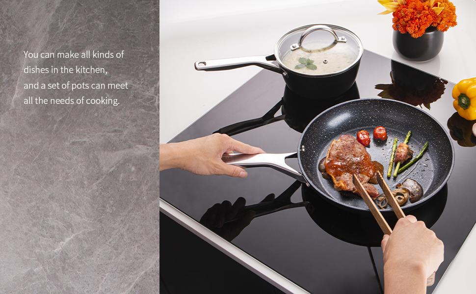 frying pan skillet stock pot