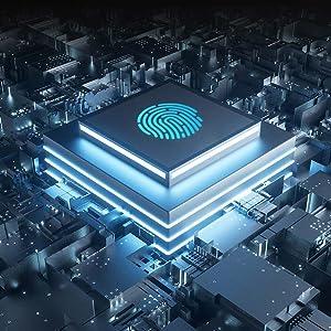 fingerprint padlock  a6