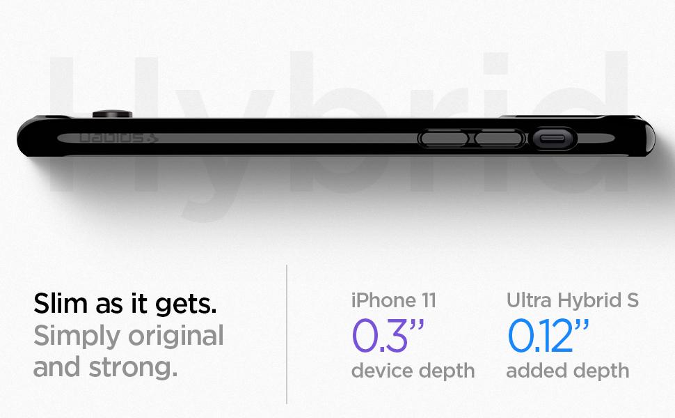 iphone 11 ultra hybrid s - jet black