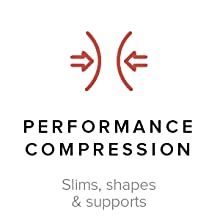 Performance Compression slims shapes supports