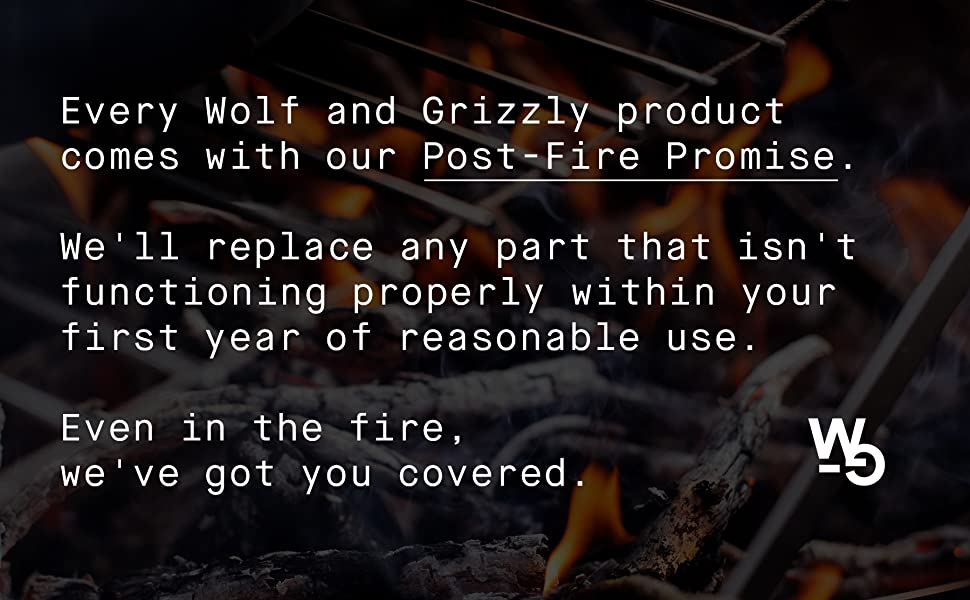 wolf grizzly, wolf and grizzly, post-fire promise