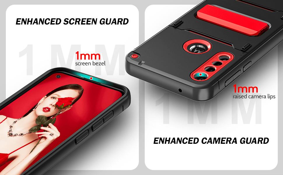 moto g power case with len protector