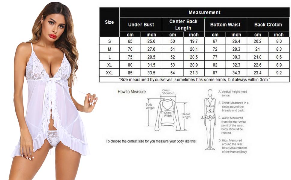 baby doll lingerie for women