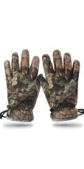 Green Camo Gloves