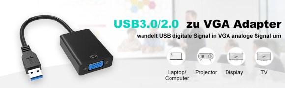 USB auf VGA Adapter