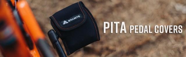 Granite, Pita, Bicycle Pedal Covers, bike pedal covers