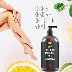 anti celulite massage oil