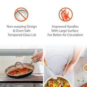 Induction Cookware with Frying Pans