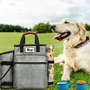 Dog Traveling Luggage Set for Dog Accessories