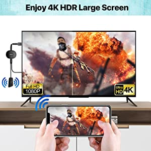 Wireless HDMI Dongle Streaming