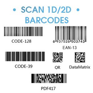 scan 1d/2d barcodes