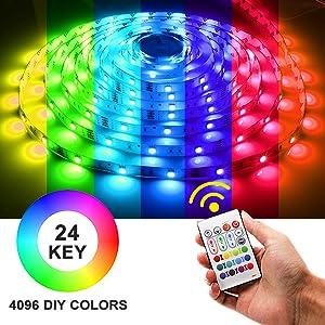 led color changing strip lights