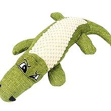Crocodile Squeaky Toy