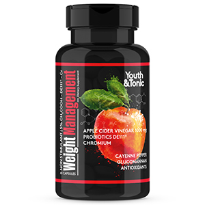 Natural ACV Formula to Reduce Cravings w/DE111 Probiotic