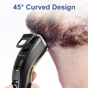 45° Curved Design & Lightweight