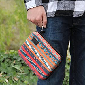 person holdingthe case