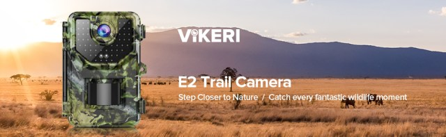 Vikeri E2 Trail Camera