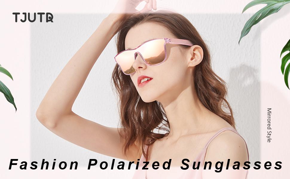 Fashion Mirrored Sunglasses for Women