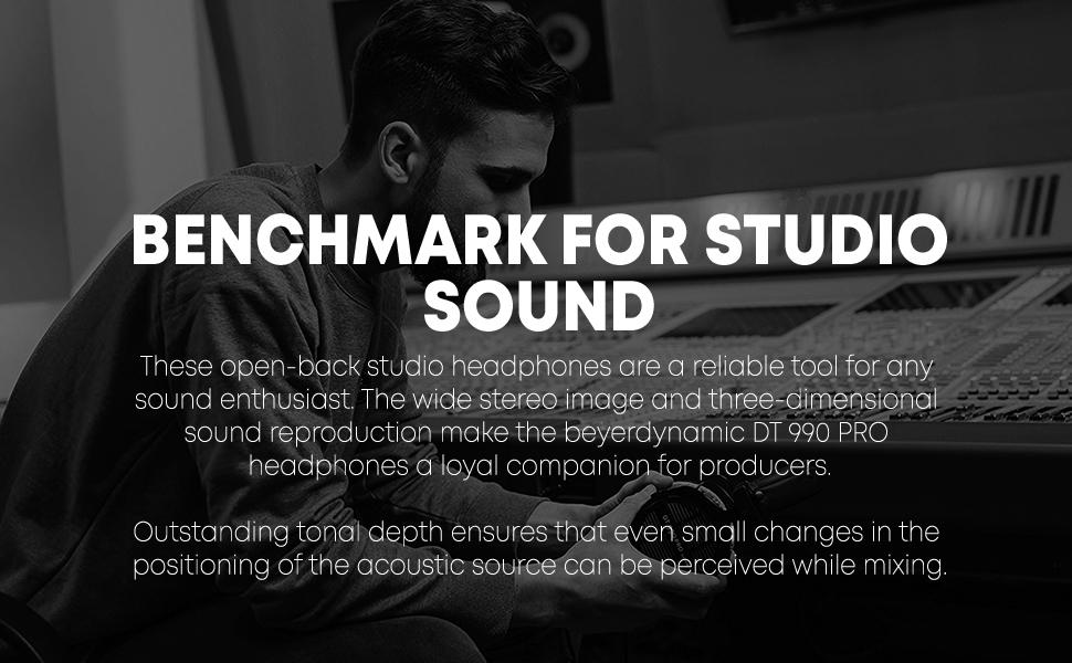 beyerdynamic dt 990 pro studio professional headphones mixing monitor over-ear recording dt990