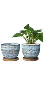 5.5 inch flower pot