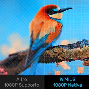 1080P natív WiMiUS S1