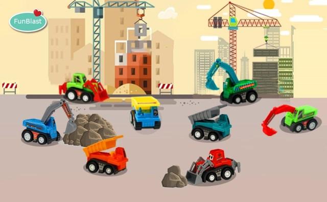 Construction Vehicles play sets