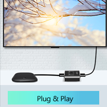 hdmi switch 2 in 1 out