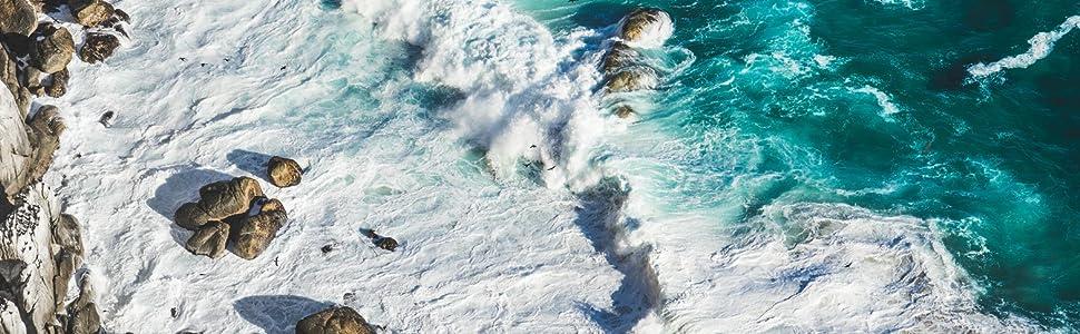 Blackskies Sustainable Background Ocean