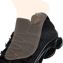 slip on easy sock shoe