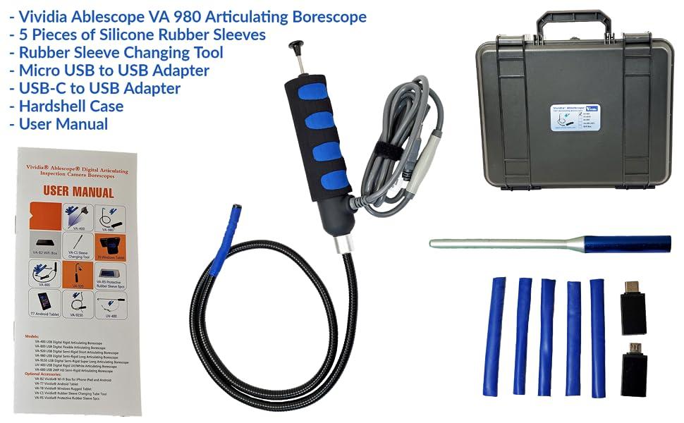 VA 980 Paket İçeriği