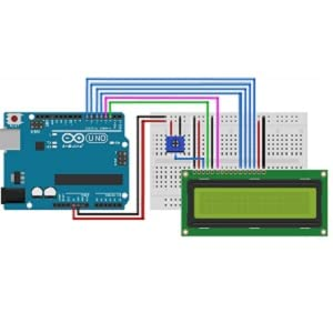 LCD with Arduino