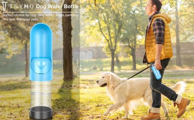 dog water bottle pet water dispenser for cat drinking