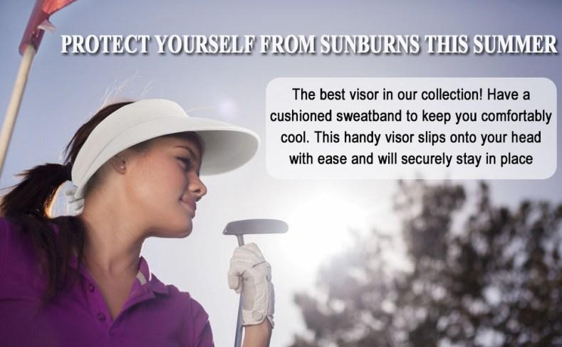 golf visor for women