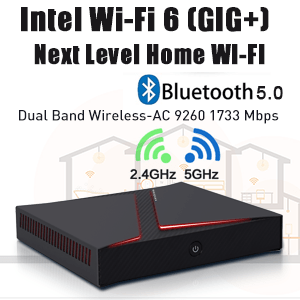 WIFI 6 with Bluetooth 5.0