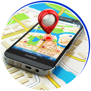 Geofence with boundary alerts
