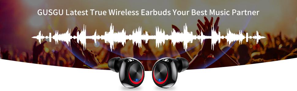 HiFi Deep Bass Sound Earbuds