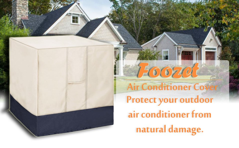 Air Conditioner Cover for Outside Units-Durable AC Cover