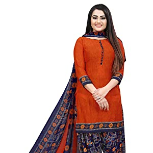 Malaey Latest Suits Printed girls dresses design wear party materials ladies indian crape stylish