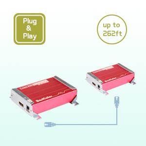 Extender up to 1080p@60hz hdmi kvm extender