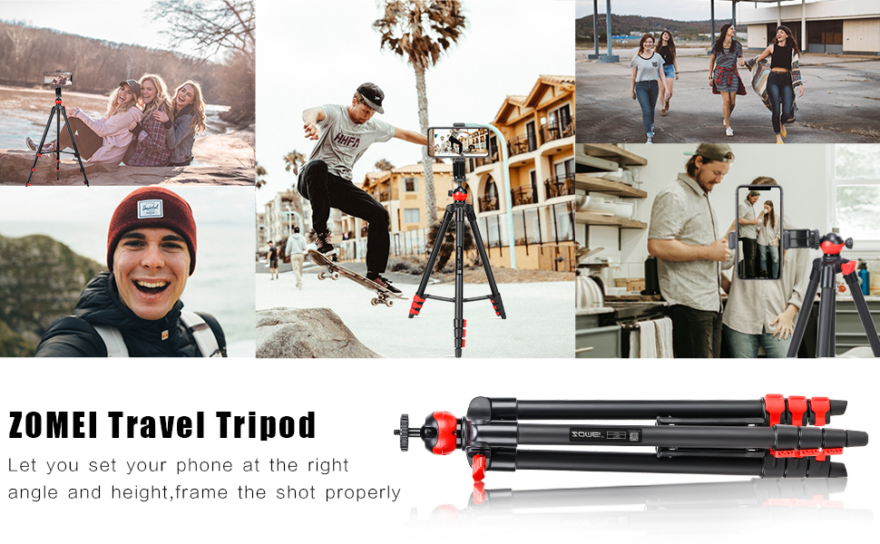 T60 zomei travel tripod