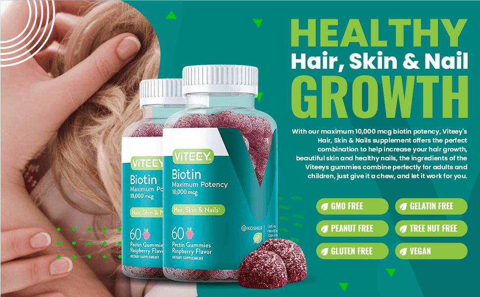 Healthy Hair, Skin & Nail Growth