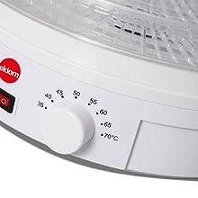 Manopola di controllo della temperatura
