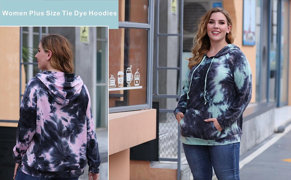Nemidor Women Plus Size Hoodies Sweatshirt