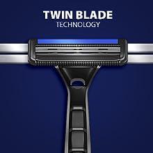 LetsShave Dorco Pace 2 disposable razor 2 blades men