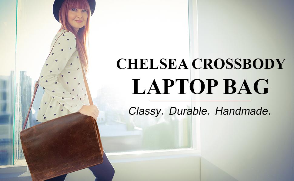 Chelsea Crossbody Laptop Bag
