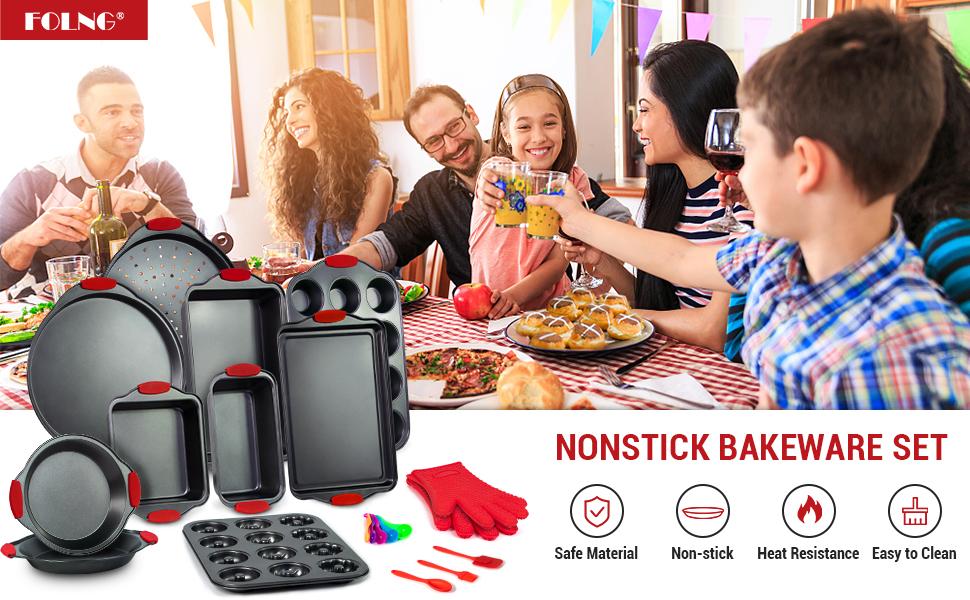 bakeware set nonstick