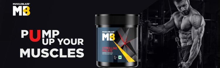 MuscleBlaze Citrulline Malate: For Massive Pumps & Increased Endurance
