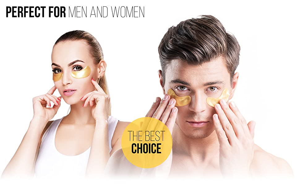 under eye patches, under eye mask, under eye pads, for men and women