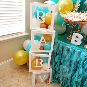baby shower boxes boy
